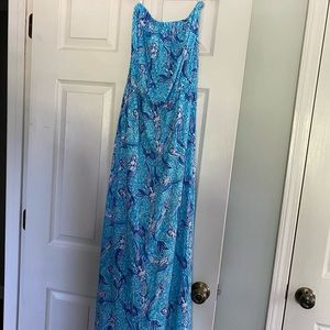 EUC Lilly Pulitzer Maxi Dress, small